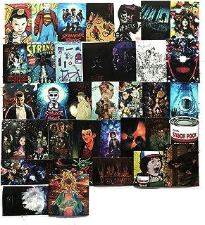 Stranger Things Sticker Sheet 36 Piece Multicolor Stranger Things Vinyl Stickers (Stranger Things)