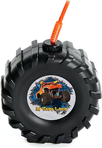 Monster Jam Party Supplies - Tire Cups (8) by BirthdayExpress