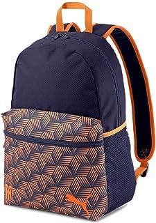 PUMA Valencia CF Temporada 2020/21-FtblCore Backpack Peacoat-Vibrant Or Mochila, Unisex, Naranja (Naranja), OSFA
