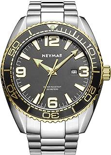 300m Men Japanese Quartz Movement Ultra Thin Sport Watch with Sapphire Glass Stainless Steel Strap
