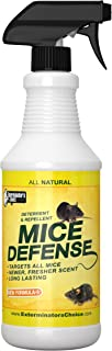 All Natural Rodent Repellent Spray –Indoor And Outdoor Humane Pest Control Solution For Mice And Rats, Safe For Children AndPets, Chemical-Free Mouse Deterrent Spray With Fresh Scent (128oz)