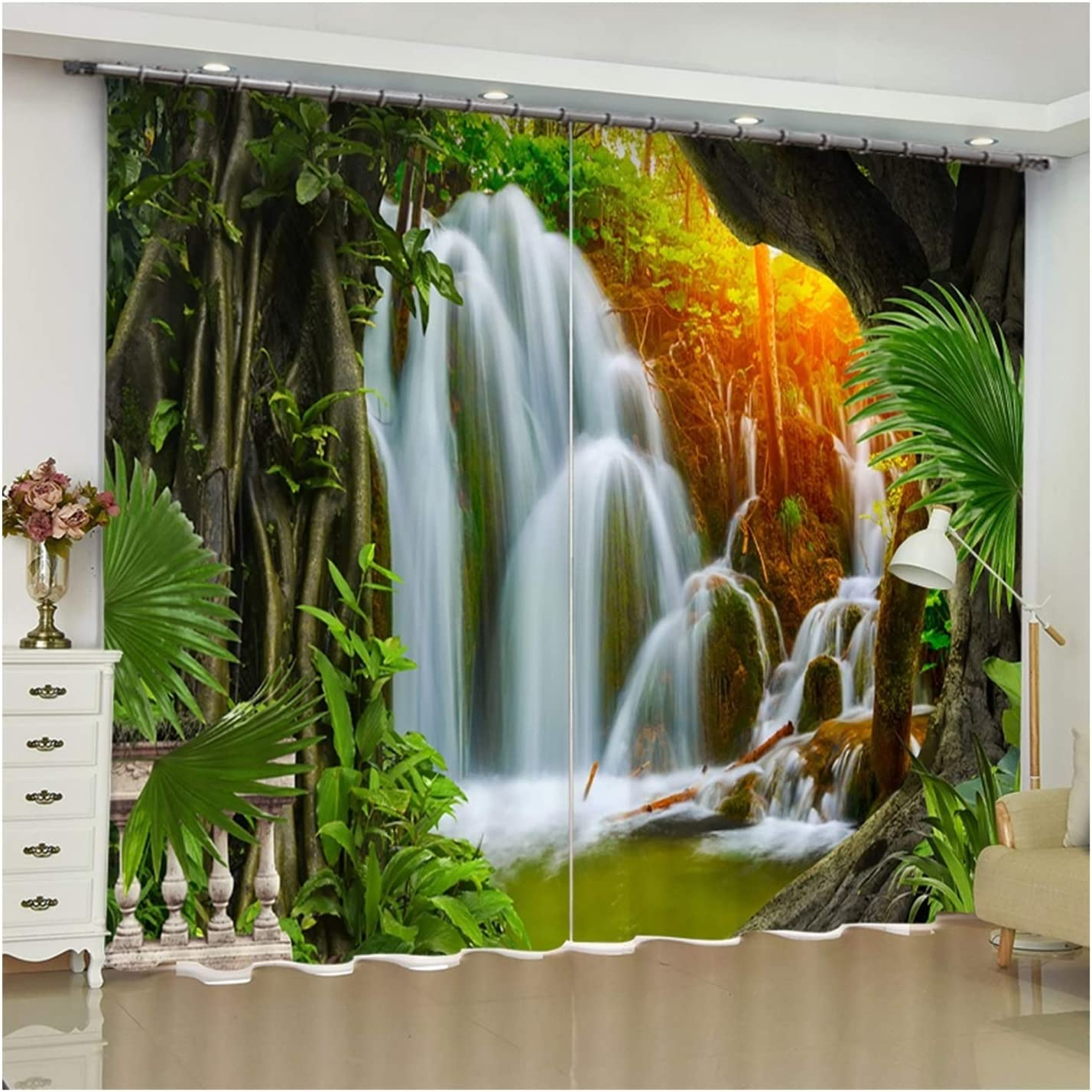 Daesar Window Inventory OFFicial mail order cleanup selling sale Curtains for 2 Bedroom Darkening Panels