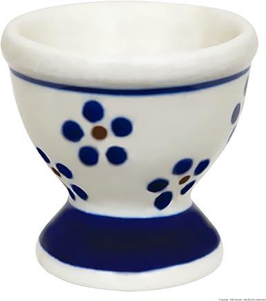 Preisvergleich für Original Bunzlauer Keramik Eierbecher hoch im klassischen Dekor 1