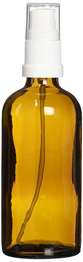 ラボバスクールease 保存容器 スプレータイプ ガラス 茶色 100ml