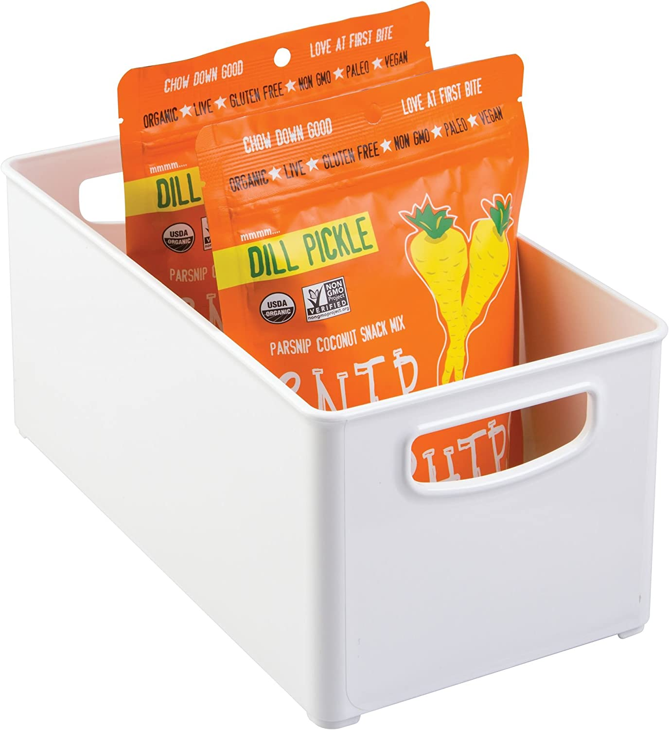 iDesign Kitchen Binz BPA-Free Plastic H Max Genuine Free Shipping 87% OFF Organizer Stackable with