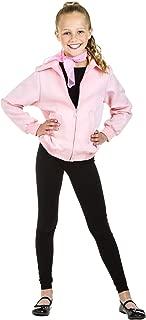 Kid's Grease Jacket Costume Child Deluxe Pink Ladies Jacket