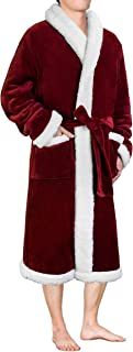 santa christmas robe