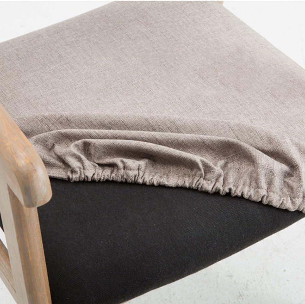 HXF- Moderne Simple Vintage À Manger Chaise en Bois Massif Chaise Restaurant Accoudoir Fauteuil Occasionnel Adulte D'ordinateur De Bureau Chaise Durable (Color : A) D