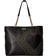 LOVE Moschino - Studded Heart Tote