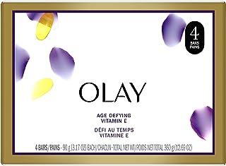 Olay Age Defying Beauty Bar Soap, 4 ct