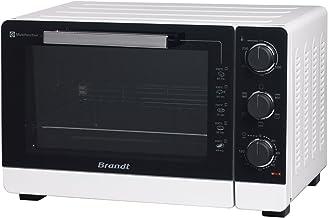 BRANDT - Mini four posable et compact 2100 W – Capacité 40L - Multifonction avec 5 modes de cuisson - Cuisson homogène - ...