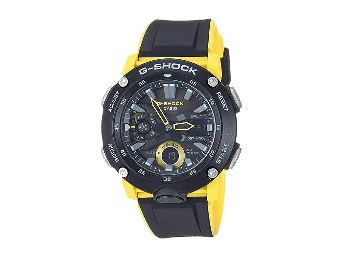 G-Shock  GA2000-1A9 (Black/Yellow) Watches