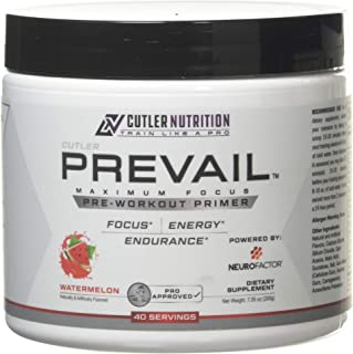 Prevail Pre Workout Powder with Nootropics: Best Pre Workout for Men and Women, Cutting Edge Energy and Focus Supplement w...