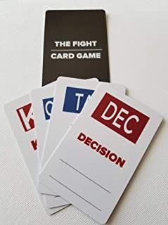 The Ultimate Fight Card Game, Combat Sports (MMA, Boxing, Kickboxing and Jiu Jitsu) Will Never be The Same! The Ultimate i...
