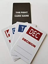 The Ultimate Fight Card Game, Combat Sports (MMA, Boxing, Kickboxing and Jiu Jitsu) Will Never be The Same! The Ultimate in Fight Night Party Fun! Plastic Card Game, Easy and Fun. Pocket Size!