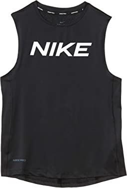 Pro Sleeveless Fitted Tank Top (Little Kids/Big Kids)