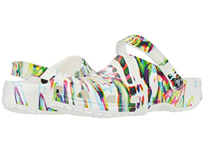 Crocs Classic Out of This World Clog (White/Multi) Shoes