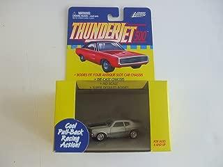 Johnny Lightning ThunderJet 500 - HO Scale - Pull Back Action Chevy Chevelle SILVER