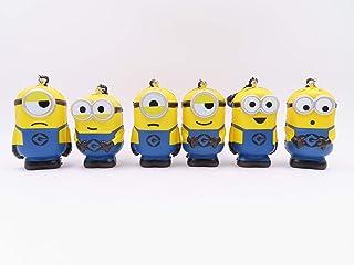 Minions Mini Squishy 6 Pack