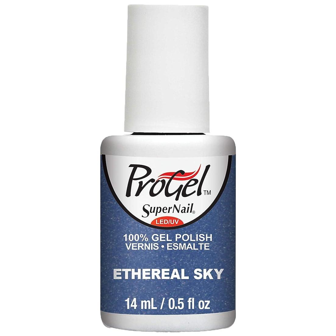 どれでも繁栄雑草SuperNail ProGel Gel Polish - Ethereal Sky - 0.5oz / 14ml