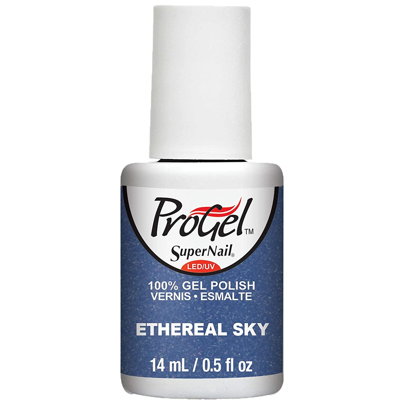 孤独な剥ぎ取る古代SuperNail ProGel Gel Polish - Ethereal Sky - 0.5oz / 14ml