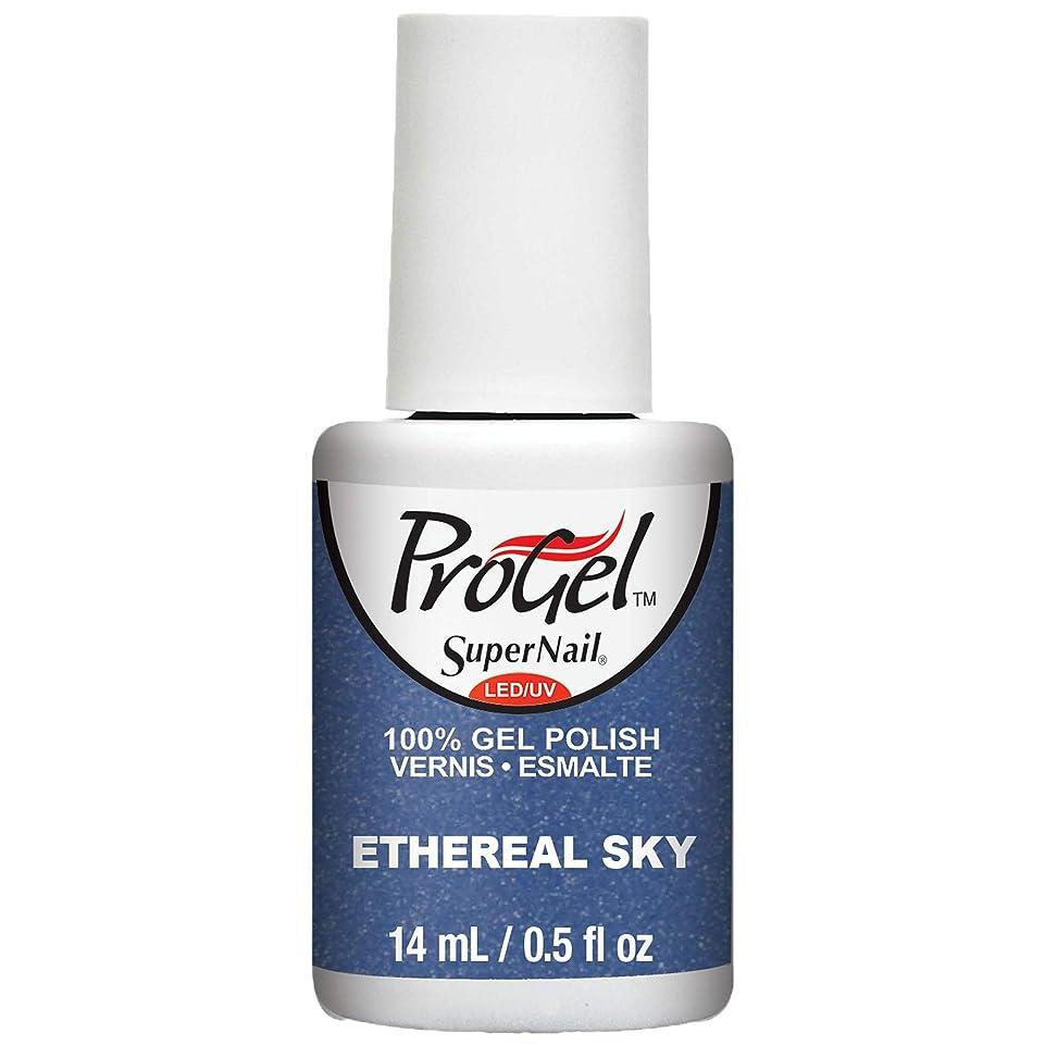 干し草質素なデモンストレーションSuperNail ProGel Gel Polish - Ethereal Sky - 0.5oz / 14ml