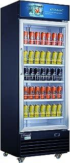 Dukers DSM-15R 14.7 cu. ft. Commercial Display Cooler Merchandiser Refrigerator