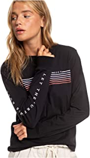 Womens Surf Times Vintage Long Sleeve Tee for Women Arjzt05457