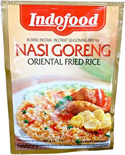 Indofood Instant Seasoning Mix Authentic Indonesian Recipe for NASI GORENG Oriental Fried Rice 1.5oz (3 Pack)