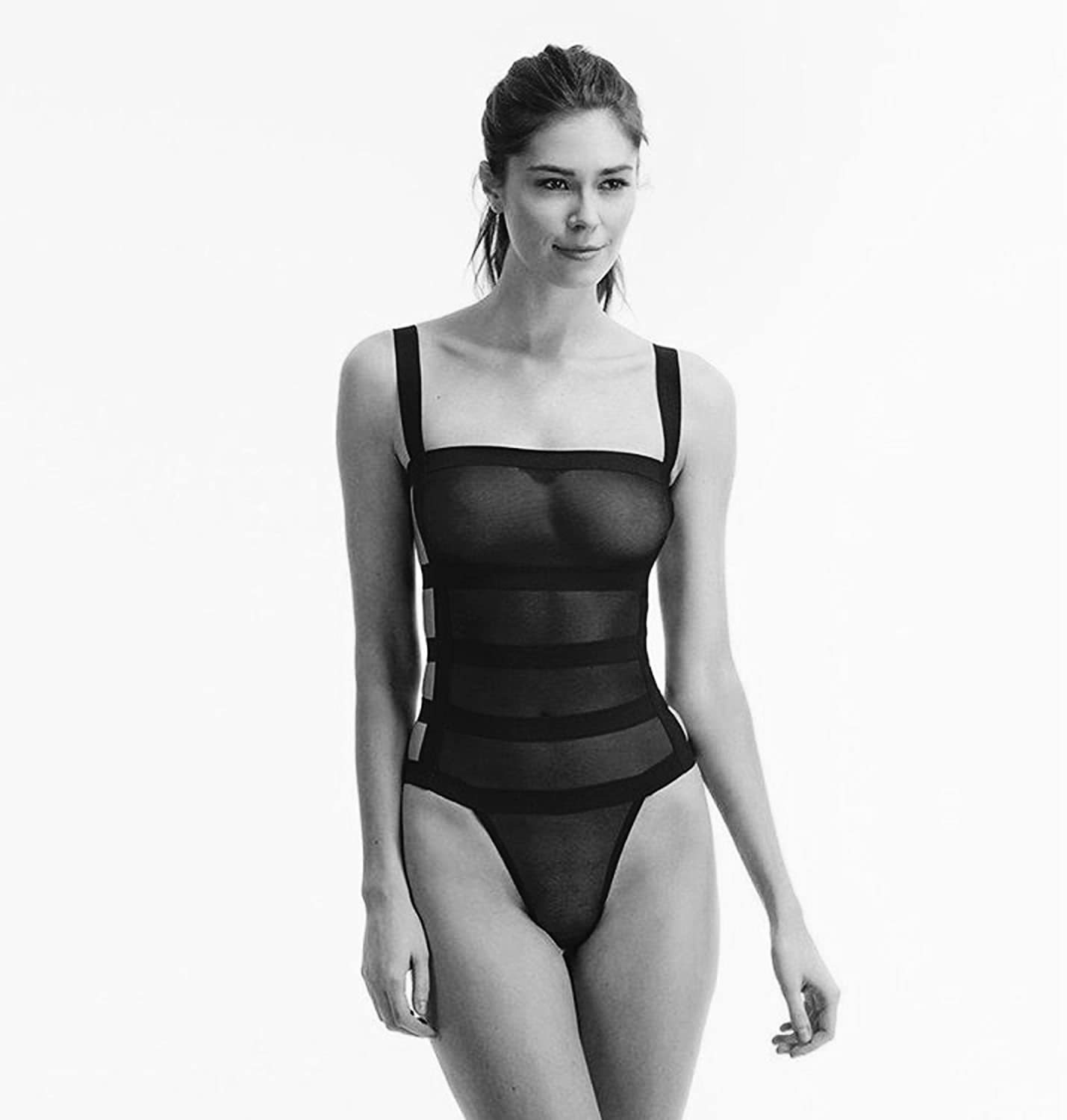 blueebella Women's Angelina Bodysuit Black 8
