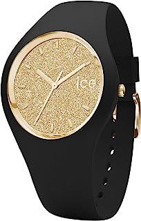 Ice-Watch - Ice Glitter Black Gold - Orologio da Donna con Cinturino in Silicone