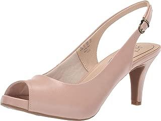 LifeStride Women's Teller Heeled Sandal, Blush, 7.5 M US