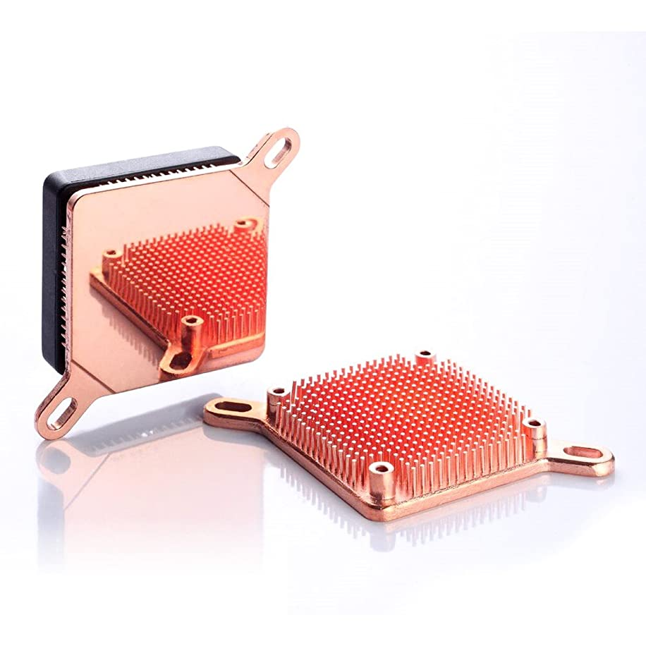 Enzotech SLF-1 Ultra Pure Copper, Low Profile Heat Sink