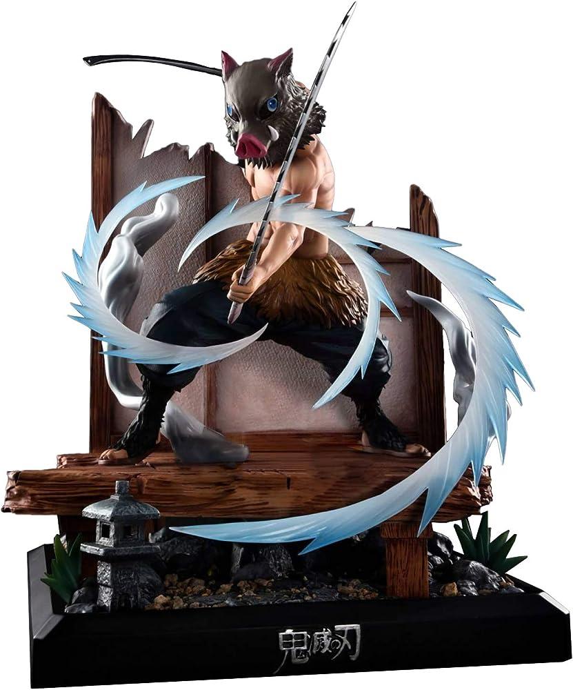 Wuhuayu demon slayer  - statuetta di inosuke hashibira , 34 cm YUKIYAFGK039K05G