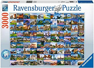 Ravensburger - 99 Beautiful Places of Europe 3000 Piece Puzzle