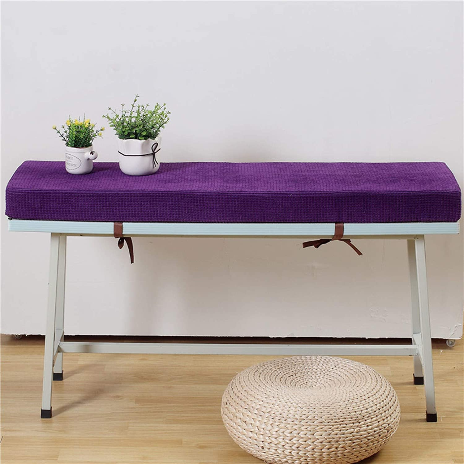 Solid Color Foam Sofa Chair Pads Cus 在庫限り 人気の定番 Thicken Padded Sponge Bench