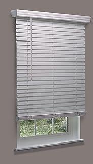 Decor Avenue Custom Cordless 18 1//2 W x 30 to 36 H Muslin Light Filtering Cellular Shade Inside Mount