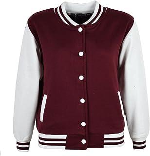 Kids Girls Boys Chief-Girl Cartoon Style Cotton Hoodies Button Varsity Baseball Jacket 2-10 Years