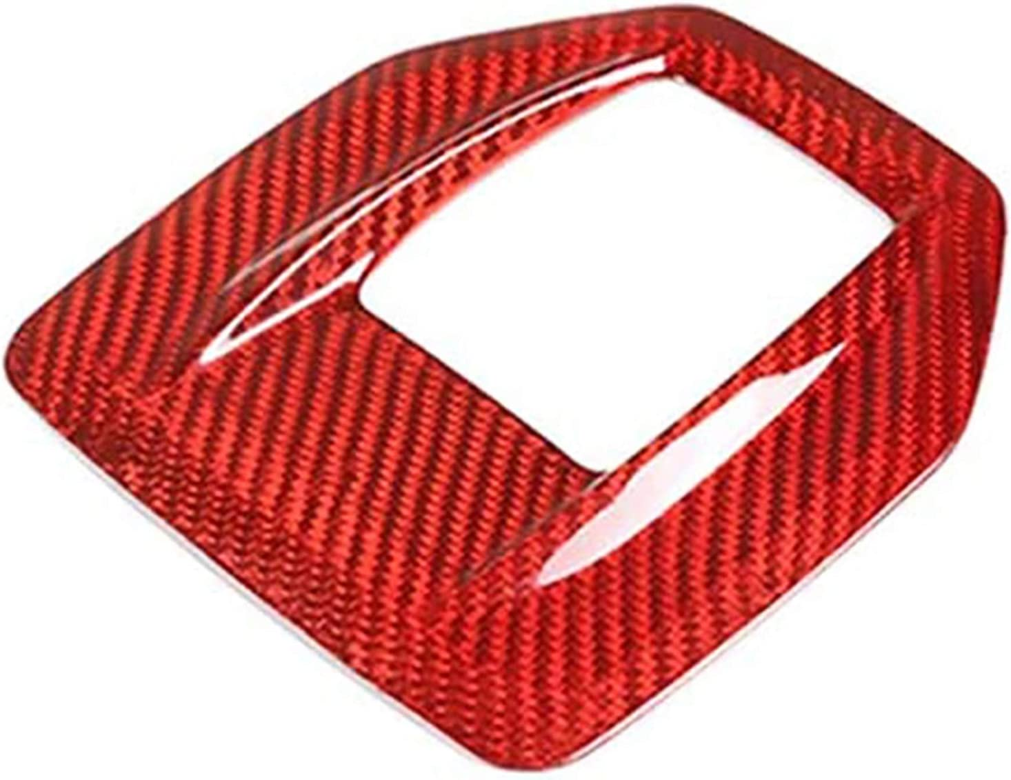 Anteprima Red Real Raleigh Mall Carbon Fiber Car for Shift Fit Ranking TOP12 Gear Alf Frame