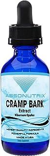 Absonutrix Cramp Bark Extract Viburnum Opulus - 4 Oz Bottle - 120 Days Supply - Made in USA