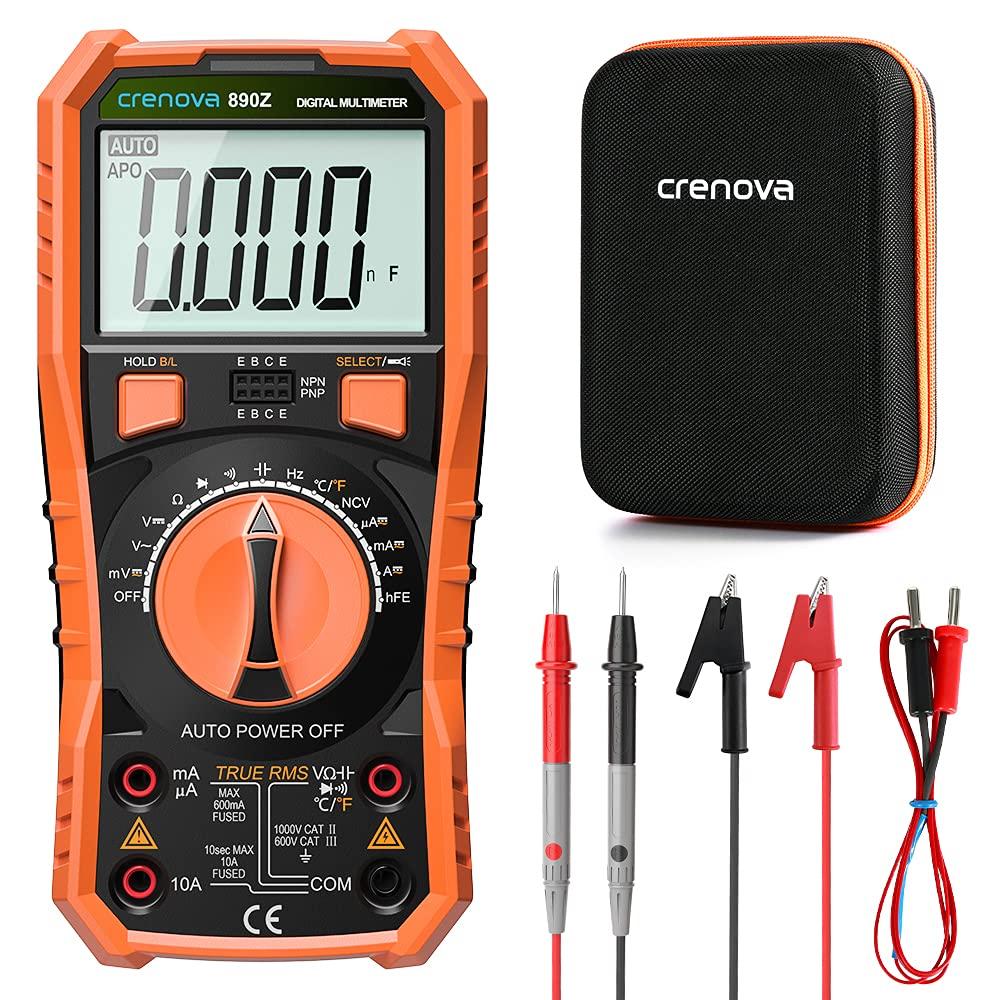 Crenova Digital Multimeter TRMS Multi Testers