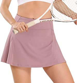 Athletic Tennis Skirts for Women with Pockets Shorts Golf Skorts Running Workout Sports Activewear Skirt