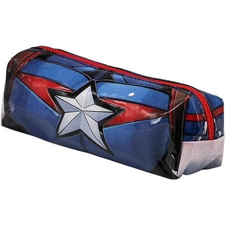 Capitán América Civil War-Estuche Portatodo Cuadrado