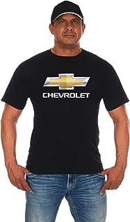 Men's Chevy Bow Tie Black Crew Neck T-Shirt