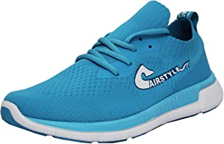MAX AIR Color Shoes for Men/Mesh Textiles Casual Derby Lace-Up Shoes/Running Sports Shoes