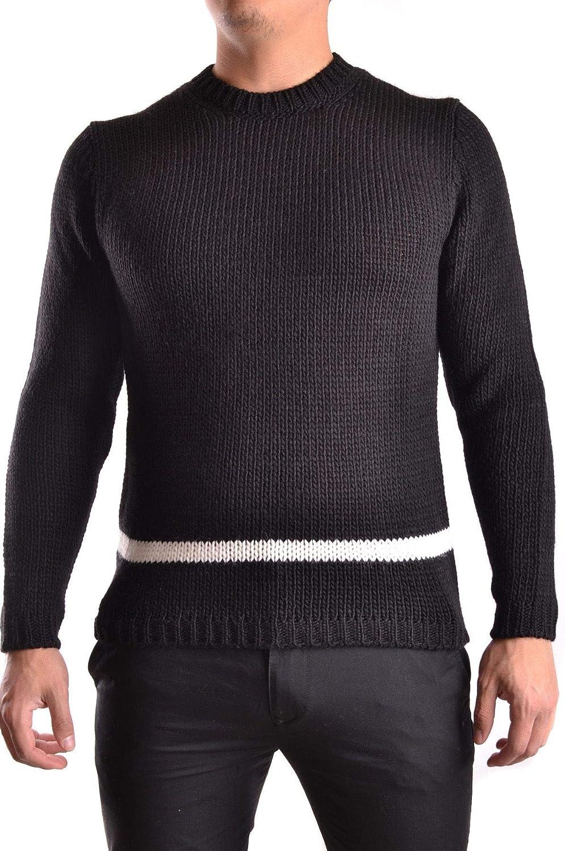 Obvious Basic Women's MCBI29650 Black Wool Sweater