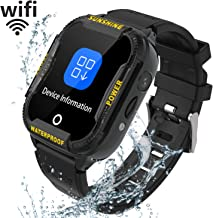 Reloj Inteligente Niña WIFI GPS - Smartwatch Niños Reloj GPS Niños Localizador, Reloj Inteligente Niño Niña Regalo, Reloj Niño con Llamada Telefónica SOS Juegos Despertador GPS Tracker Podómetro