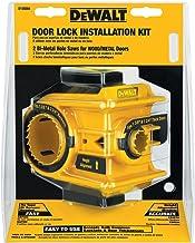 DEWALT Kit de instalación de cerradura de puerta, bi-metal (D180004)