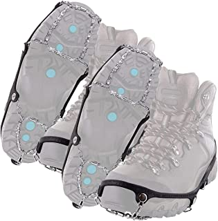 Yaktrax Diamond Grip All-Surface Traction Cleats for Walking on Ice and Snow, 2X-Large, XX-Large (Small - 2 Pack)