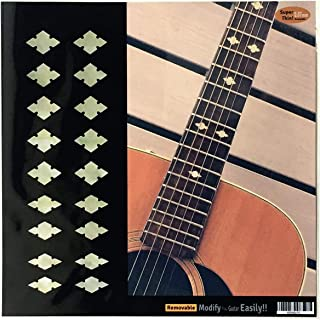 Traditional Slotted Diamond (AWP) Fret Markers Inlay Sticker Decals Guitar & Bass